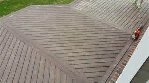 diagonal trex deck build decks fencing contractor talk