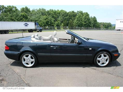 convertible mercedes black 1999 black opal metallic mercedes benz clk 320 convertible