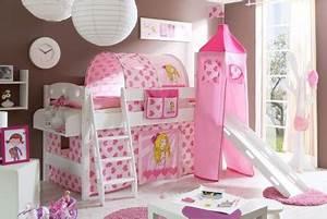 Deco Chambre Fille Princesse : decoration chambre petite fille 6 ans visuel 3 ~ Teatrodelosmanantiales.com Idées de Décoration