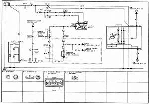 1992 Mazda 323 Cooling Fan System Wiring Diagram