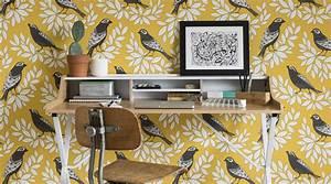 les 18 papier peint oiseaux tendances pour 2018 maison With couleur papier peint tendance 18 la tendance mix and match blog au fil des couleurs