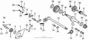 Kick Starter   Gearshift For Honda Mt125