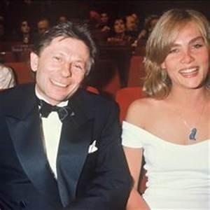 Roman Polanski with his wife Emmanuelle Seigner & their ...