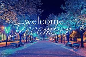 Friend School - Welcome to December!