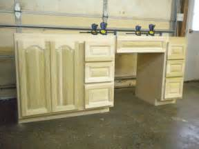 bathroom vanity with make up station by carbide lumberjocks woodworking community