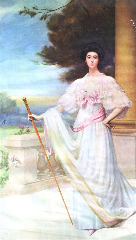 bustle on wedding dress ca 1900 consuelo vanderbilt by carolus duran printed in