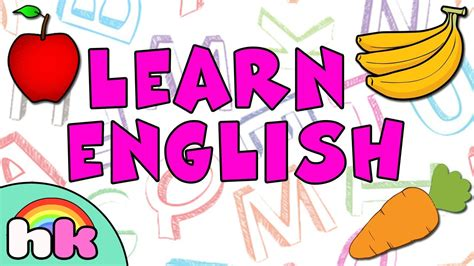 Learn English  English Learning For Children  Fun Way To Learn Spelling Of 17 English Words