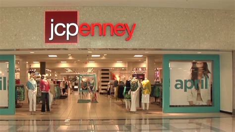 jc penney shares close   year  oct
