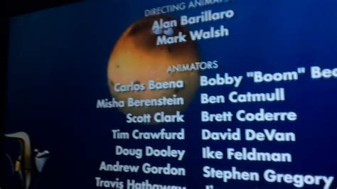 bloat in finding nemo end credits part 1 youtube