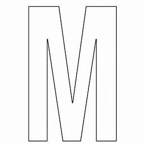 7 Best Large Printable Bubble Letters M