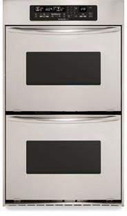 kitchenaid kebckss  double electric wall oven  true convection upper   ovens