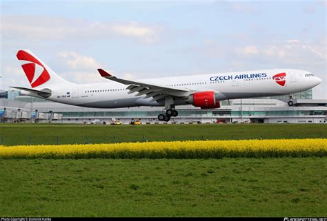 OK-YBA Czech Airlines (CSA) Airbus A330-323 Photo by Dominik Hanke | ID 386308 | Planespotters.net
