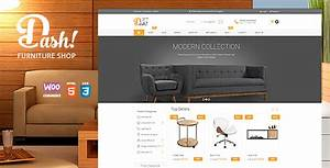 Dash Handmade Furniture Marketplace Theme By