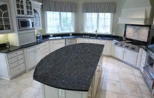 blue countertop kitchen ideas blue pearl granite kitchen countertops design ideas