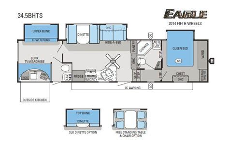 2014 jayco eagle 34 5bhts fifth wheel cincinnati oh
