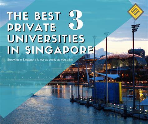 private universities  singapore  excel
