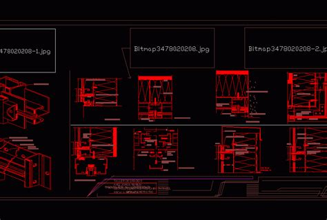 construction detail alucobond dwg detail  autocad