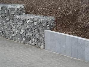 Mur De Soutenement En Gabion : r alisation de mur de sout nement bloc de soutien ~ Melissatoandfro.com Idées de Décoration