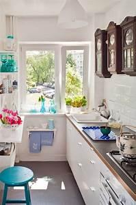 Kleine Schmale Küche Einrichten : einrichtungstipps f r kleine k che 25 tolle ideen und bilder ~ Sanjose-hotels-ca.com Haus und Dekorationen