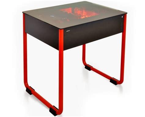 dk01 lian li pc case desk concept unveiled