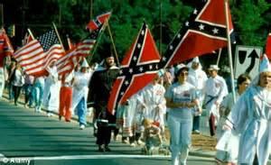 Kkk Symbol Confederate Flag