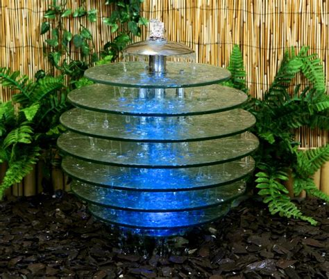 glass water feature arcadia glass tree water feature large 47cm height 163 199 99