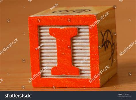 block letter i alphabet block letter stock photo 56546713 43788