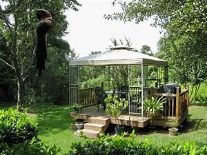 wooden garden gazebo plans – woodguides
