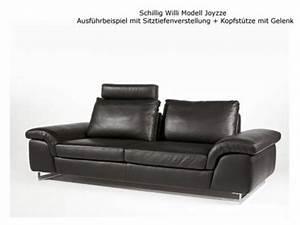 Couch Mit Sitztiefenverstellung : schillig g nstig sicher kaufen bei yatego ~ Indierocktalk.com Haus und Dekorationen