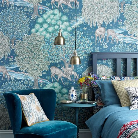 feature wall ideas   style statement  wallpaper