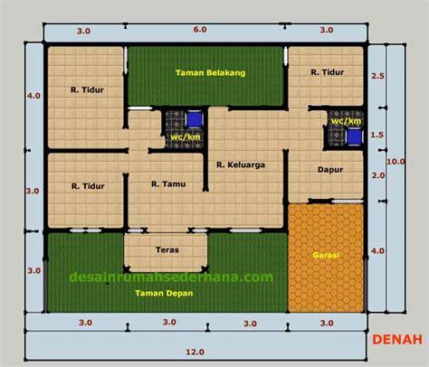desain rumah sederhana gabungan  rumah type
