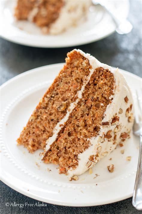dairy free cake recipe gluten free dairy free decadent carrot cake allergy free alaska