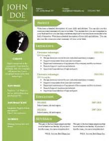modern curriculum vitae formats curriculum vitae resume word template 904 910 freecvtemplate org