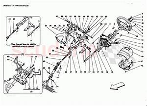 Ferrari 360 Modena Steering Column Parts