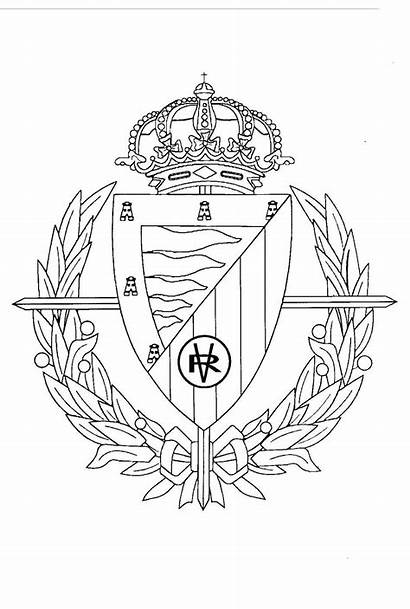 Colorear Valladolid Escudo Pintar Dibujos Madrid Escudos