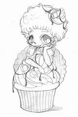 Yampuff Chibi Deviantart Coloring Butter Peanut Fudge Fairy Anime Kawaii Ausmalen Ausmalbilder Zeichnungen Drawings Viatico Gemerkt sketch template