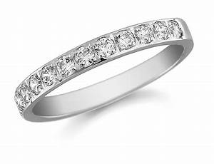 ladies platinum round diamond pave set wedding ring 0 With ladies platinum wedding rings