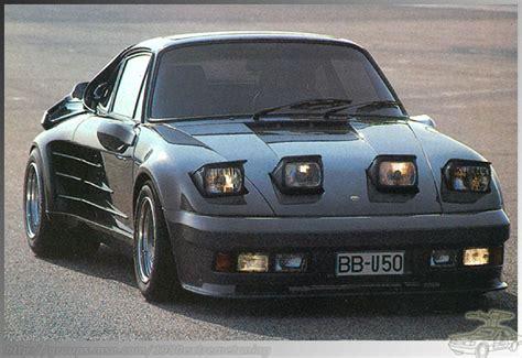 1986 porsche 911 turbo mirage by gemballa