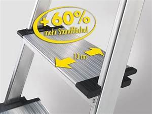 Hailo Leiter 8 Stufen : hailo xxl easyclix sicherheit haushaltsleiter alu leiter aluminium breite stufen ebay ~ Buech-reservation.com Haus und Dekorationen