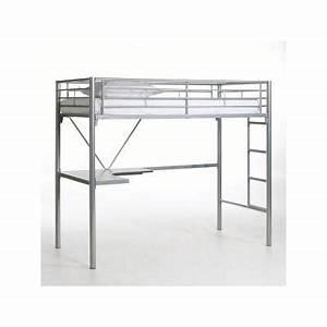 Echelle Pour Lit En Hauteur : lit mezzanine avec bureau et rangements lits mezzanines ~ Premium-room.com Idées de Décoration