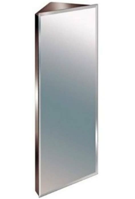 Corner Bathroom Cabinet With Mirror by Luxury Bathroom Corner Cabinet Mirror Stainless Steel