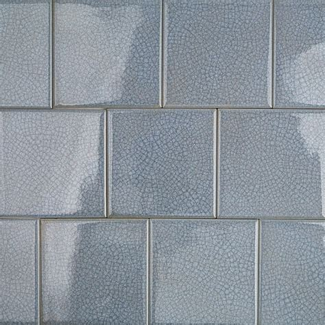 brisk blue 4x4 glass tile