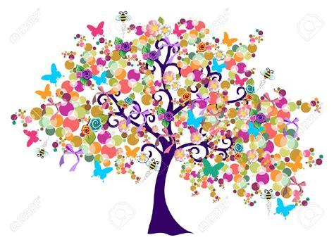 printemps si e social fleurs de printemps dessin couleur