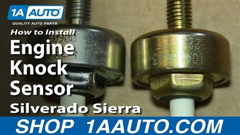 install replace engine knock sensor