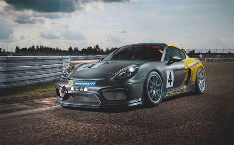 Manthey-racing Builds Extra Hardcore Porsche Cayman Gt4