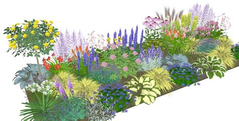 Border Garden Plans  Home Design