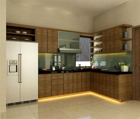 Small Modern Kitchen Design India  Home Art Decor #90039