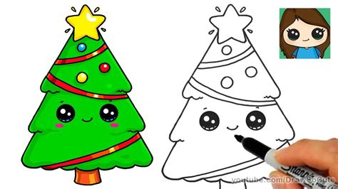 how to draw christmas tree how to draw a tree and easy and