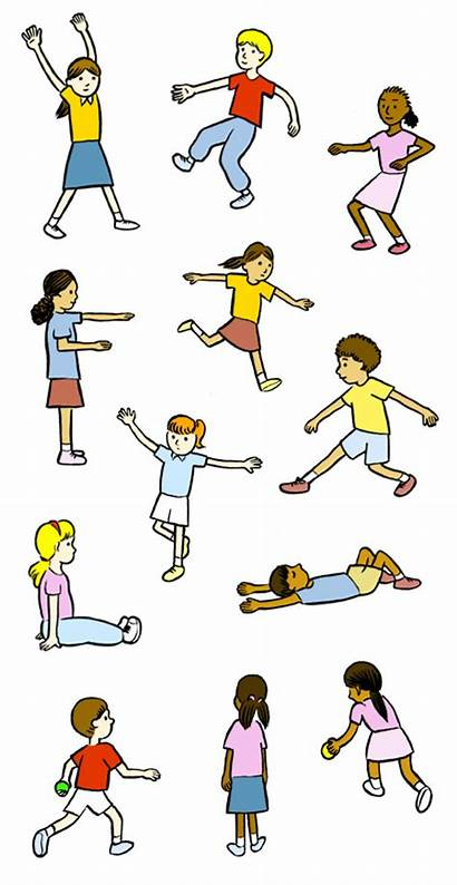 Pe Physical Education Clipart Gym Elementary Clip