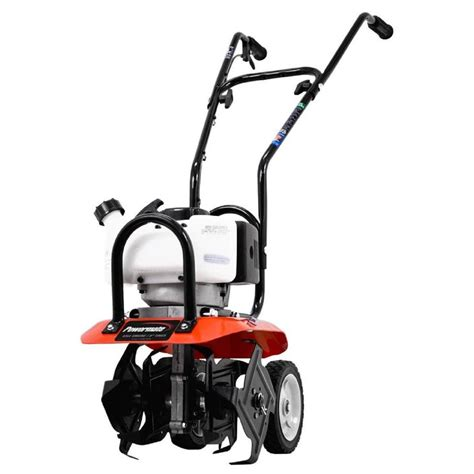 Rototiller Home Depot by Powermate 10 In 43cc Gas 2 Cycle Cultivator Pcv43 The